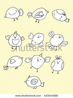 Arte e grafica vettoriale d'archivio di Uccelli Volo | Shutterstock
