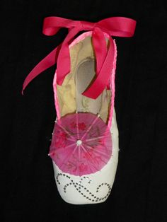 Decorative pointe shoe  chinese nutcracker by PointePerfection1, $15.99