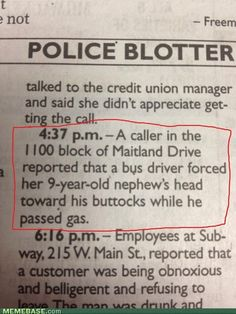 I had no idea you could call the police about that! My brother would have been in so much trouble!