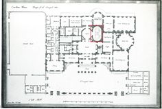Carlton House - Plan - London home of George IV while Prince Regent