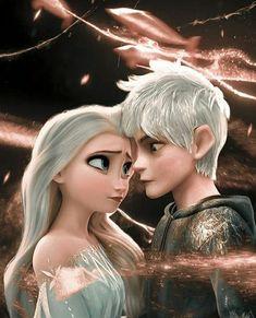 Jelsa, Disney Princess Frozen, Sailor Princess, Elsa Frozen, Disney Ships, Jack Frost And Elsa, Character Design Girl, Water Pictures, Honey Badger