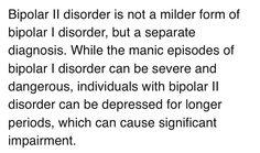 Type 2 Bipolar disorder