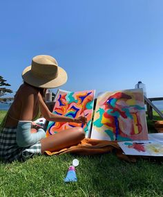 Summer Dream, Summer Girls, Summer Time, Summer Europe, Summer Baby, Arte Peculiar, Tableaux Vivants, Artist Aesthetic, Aesthetic Drawing