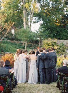 Elegant Cheekwood Nashville Wedding - ivy aisle