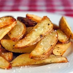 Crispy Oven Wedge Fries