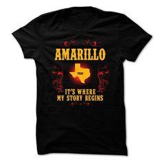 Amarillo - Its where story begin - #boyfriend gift #cute gift. CHECKOUT => https://www.sunfrog.com/Names/Amarillo--Its-where-story-begin.html?68278
