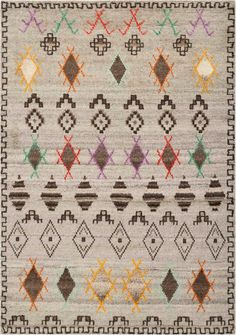 From Safavieh, the Kenya collection is hand-knotted of pure wool and un-dyed natural shades for a thick, layered texture with a geometric flair. Wool Area Rugs, Wool Rug, Moroccan Style Rug, Transitional Rugs, Discount Rugs, Hand Tufted Rugs, Geometric Rug, Natural Rug, Hand Knotted Rugs