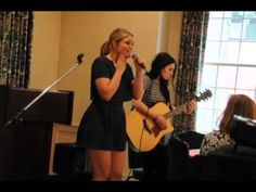 "Lauren Alaina sings her  newer song ""Pretty"" that Lauren and Emily Weisband wrote together.   (May 3, 2015)"