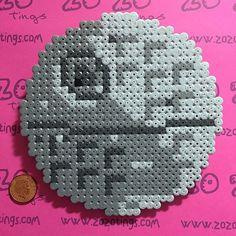 Death Star - Star Wars hama perler beads by zozotings