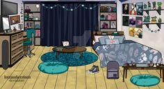 Dorm Layout, Dorm Room Layouts, Dorm Rooms, My Hero Academia Episodes, Hero Academia Characters, Bedroom Drawing, Dorm Design, Girl Dorms, Anime Girl Dress