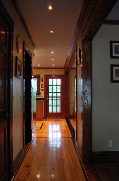 hallway recessed lighting