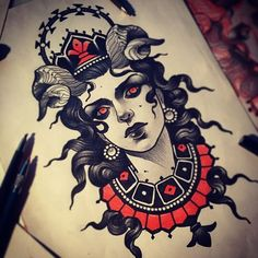 Tattoo design by Vitaly Morozov. Check http://vk.com/art_tendencies for more similar sketches.