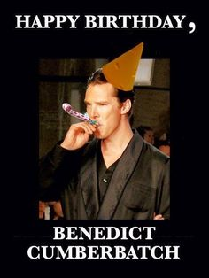 Happy birthday to this amazing, inspirational, and talented person <3 happy birthday, Benedict!
