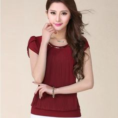 Cheap Blouses & Shirts on Sale at Bargain Price, Buy Quality blouse pink, blouse chiffon, blouse winter from China blouse pink Suppliers at Aliexpress.com:1,Clothing Length:Regular 2,Material:Polyester 3,Pattern Type:Solid 4,Model Number:TBHK00158 Vestidos 5,Sleeve Style:Regular