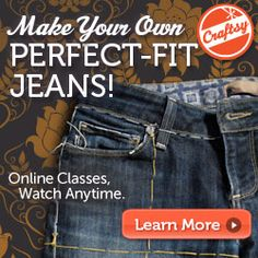 JEAN-IUS is on special offer right now = 50% OFF.    Learn how to copy your favorite jeans - and use the techniques to copy your other ready to wear clothes too.  Kenneth King - fab instructor !