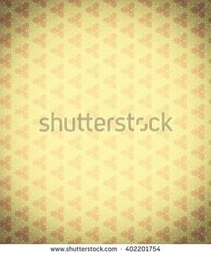 Vintage background vignette, yellow. A seamless pattern with noise. Rough wall-paper with abstract vegetable drawing. A background for the websites, albums, cards, with the place for the text.