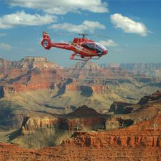 Helicopter ride over the Grand Canyon. It's a twopher!