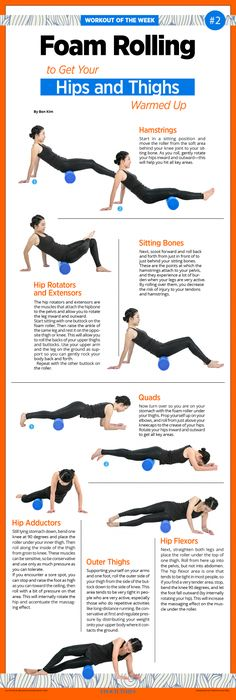 Foam Rolling Whole-Body Warmup Part 2: Hips and Thighs