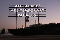 kultur is raising funds for Robert Montgomery: Echoes of Voices in the High Towers on Kickstarter! When poetry becomes light, when billboards talk about politics – our first artist book with the amazing Robert Montgomery. Robert Montgomery, Palaces, Jenny Holzer, Indie, Grunge, Tumblr, Light Installation, Art Installations, Sunset Photography