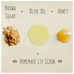 lip balm, beauty tips, brown sugar, beauty hacks, beauty routines