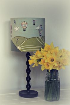 Wonderfully Quirky Lampshades from £45  https://beta.folksy.com/shops/TheHandkerchiefTree