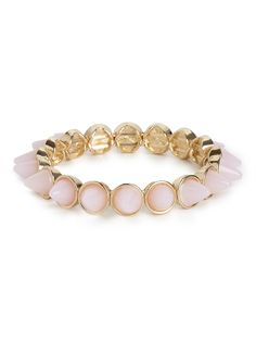 Pink Frosted Cone Bangle | BaubleBar