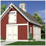 Woodberry Barn, Garage and Workshop