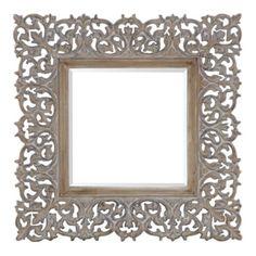 "Sienna Mirror - 45"" Square from Z Gallerie"