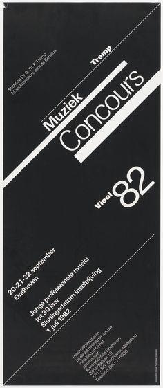 Wim Crouwel, Muziek Concours 82