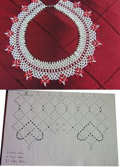 Diy Necklace Patterns, Crochet Jewelry Patterns, Bead Jewellery, Beaded Jewelry, Weaving Patterns, Handmade Beads, Beading Tutorials, How To Make Beads, Bead Crafts