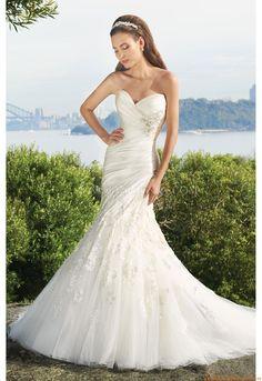 Schlicht Designer Brautkleider
