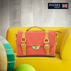 A good #colour, a better #style and the best comfort! Stand out from the crowd with this pretty #handbag from #PaversEngland.