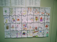 First day of school activity - Draw themselves, what they like....
