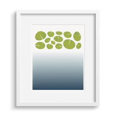 A limited edition print in blue and green, based on the depths and surface of a lily pond. Printed on heavy archival paper, each print is signed and numbered. Green Art, Green Colors, Modern Art Prints, Fine Art Prints, Gallery Wall Bedroom, Artist Biography, Lily Pond, Watercolor Techniques, Water Lilies