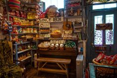 The snack corner at the Rabbit Hash General Store