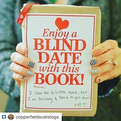 Another Blind Date with a Book! #Repost @hihomemadeblog with @repostapp.  Have you ever had a blind date with a book? Such a fun idea from @copperfieldscalistoga just one of the many cute shops here in #calistoga within walking distance from @calistogaspa where we're staying. #FeedTheSoulRetreat  #VisitNapaValley #CalistogaSpa by copperfieldsbooks