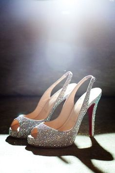 Christian Louboutin- I love everything that sparkles, especially these.
