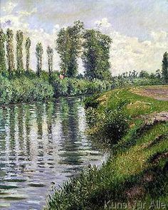 Gustave Caillebotte - Small Branch of the Seine at Argenteuil