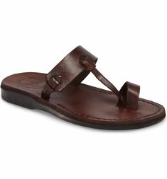 53b8dcbe4514 Main Image - Jerusalem Sandals David Toe-Loop Sandal (Women) Ikea Shopping