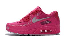 Nike Air Max 90 Pink Hot Fashion Runing Training Women Shoes #Nike #RunningCrossTraining