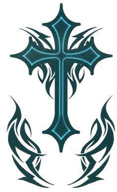 Cross Tattoo 12