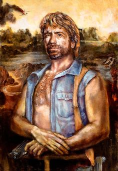 Chuck Norris Is Mona Lisa (all kinds of wrong...)