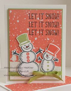 Stampin' Up! Snow Place