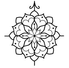 compass mandala tattoo