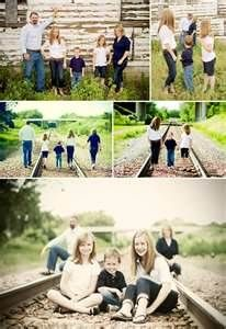 Image Search Results for family photo ideas on railroad tracks