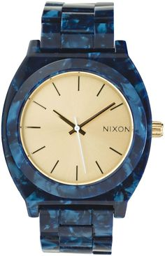 Nixon watch addiction that is supported by my husband...