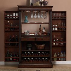 Have to have it. AHB Angelina Wine and Spirit Bar - Navajo - $1899.95 @hayneedle