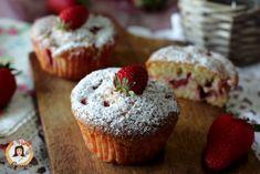 Muffin alle fragole  soffici - Anche Bimby
