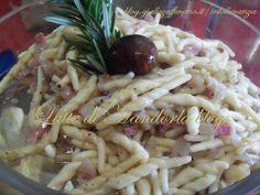 Trofie con sugo di castagne | Ricetta di Natale | Primo piatto, pasta | Latte di Mandorla blog | Ricette cucina tradizionale e senza lattosi...