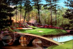"""12th hole is the center piece of the famous """"Amen Corners"""" at Augusta National"""